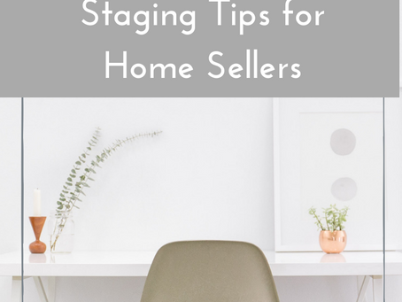 Top 5 Staging Tips for Home Sellers