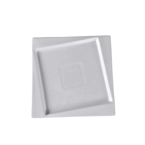 "Square Collection 10.2"" Porcelain Dinner Plate"