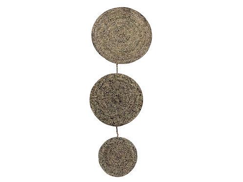 Heathered Black Wall Pendant