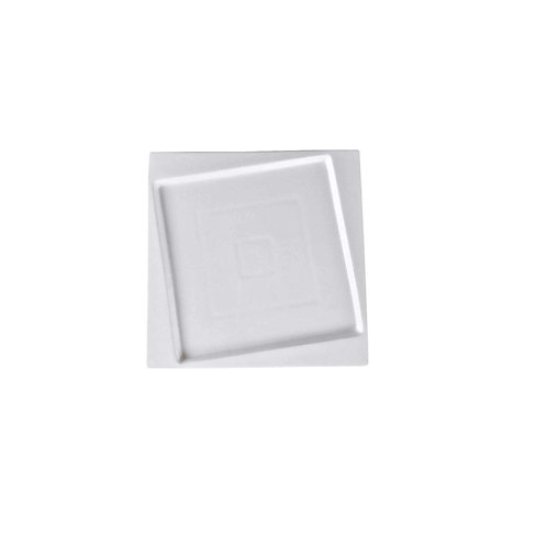 """Square Collection 6.3"""" Porcelain Bread and Butter Plate"""