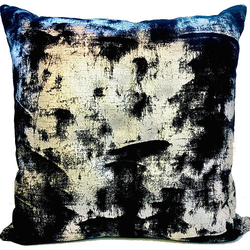 """Muira Foil Velvet""  20"" Throw Pillow Covers  (Set of 2)"