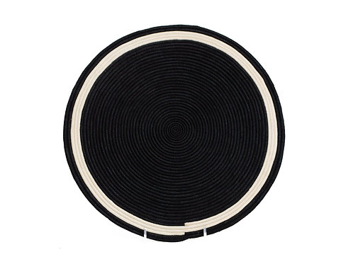 Black Sisal Placemat