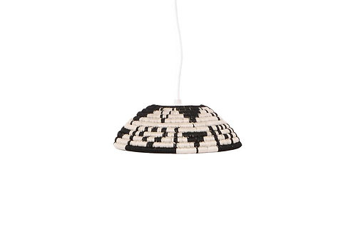 Black Kisasa Lamp Pendant - Medium