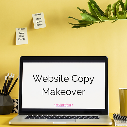Website Copy Makeover | JenWestWriting