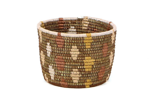 """7"""" Shades of Sand Dafina Tapered Planter"""