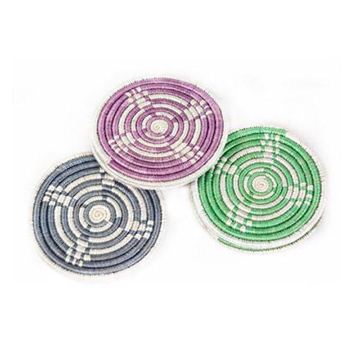Peppermint + Rosewod Hope Coasters (Set of 6)