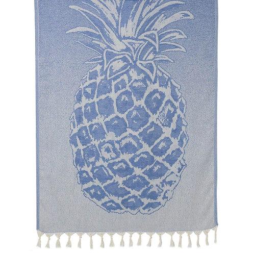 Ocean Pineapple Turkish Beach Towel