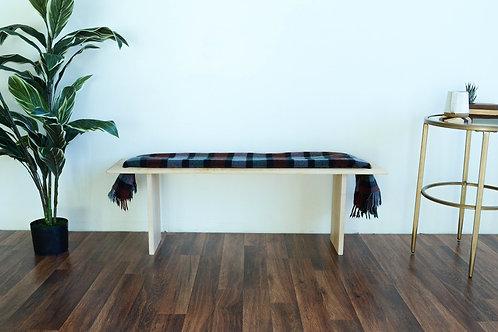 Blanket Wood Bench