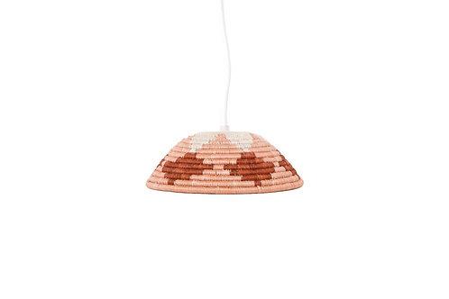 Dusty Peach Lamp Pendant - Medium