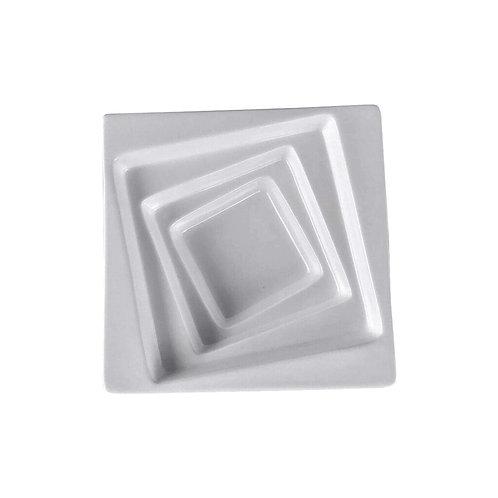 """Square Collection 7.9"""" Porcelain Salad Bowl"""