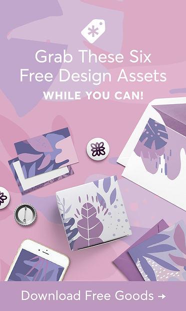 Creative Market Six Free Design Assets