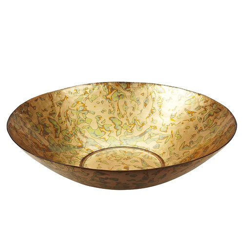 "Patina 16"" Shallow Bowl"