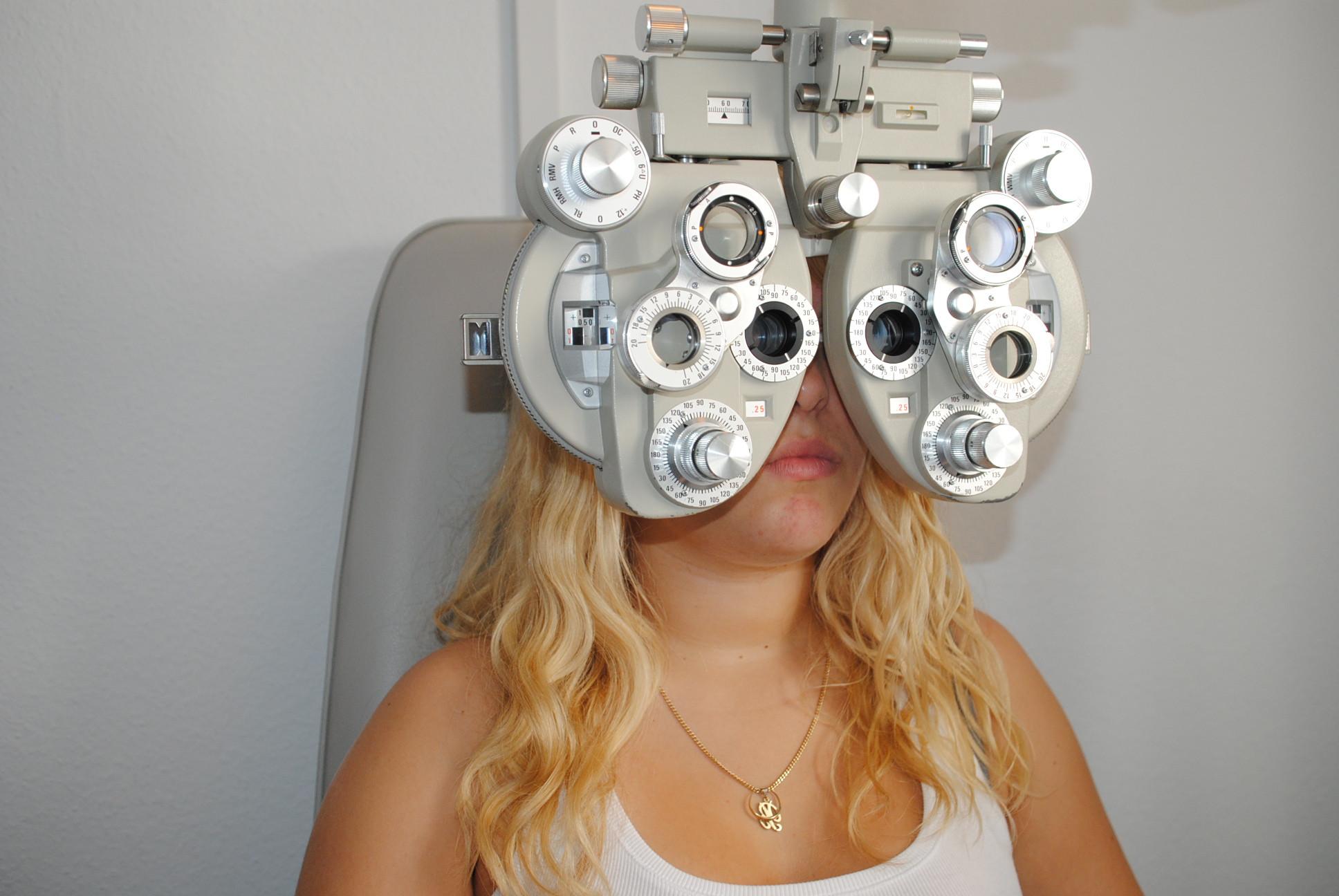 3D-Augenüberprüfung