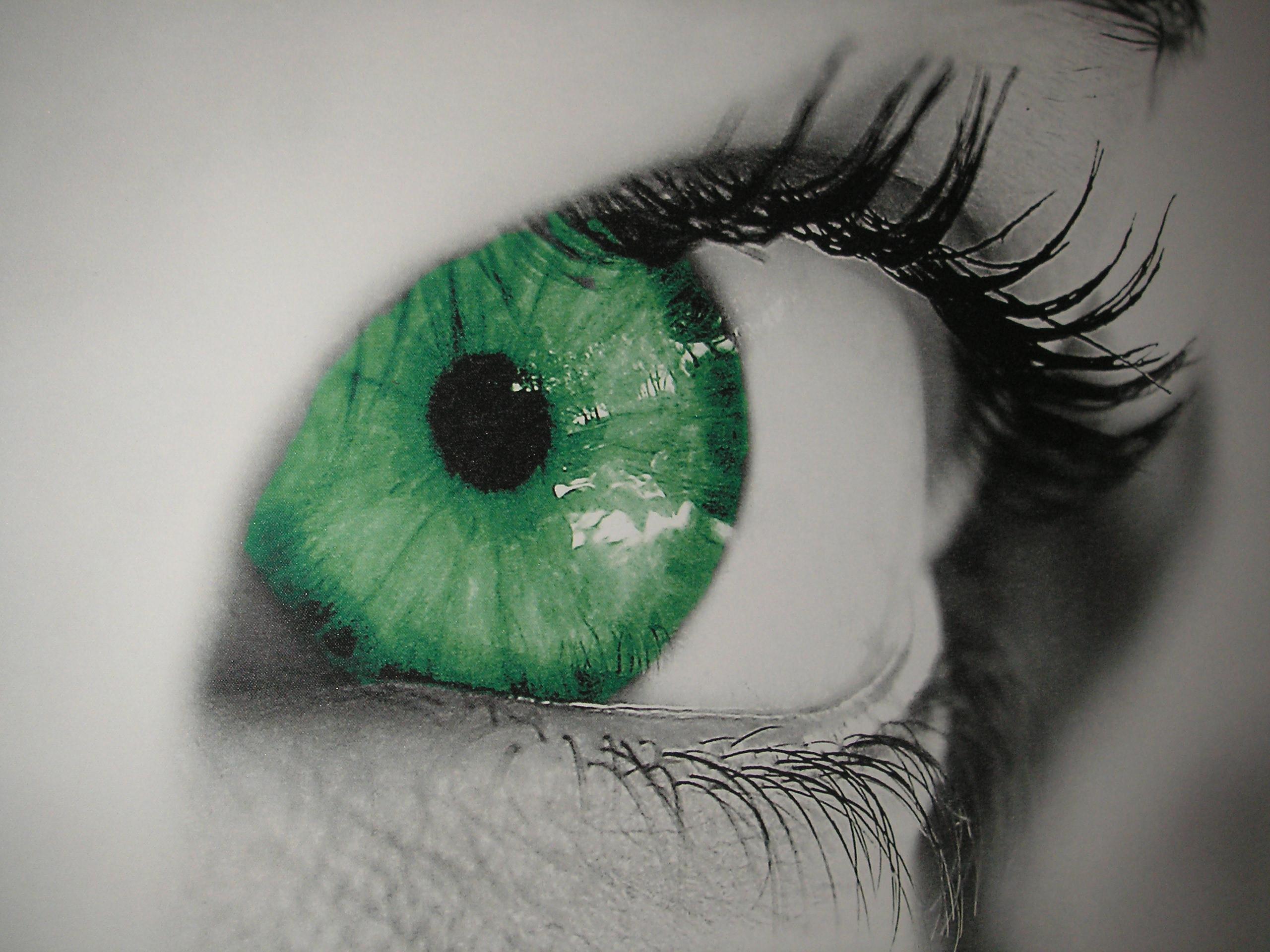Kontaktlinsenanpassung