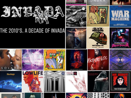 TOYDRUM // A DECADE OF INVADA