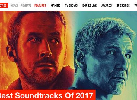 EMPIRE MAGAZINE // THE BEST SOUNDTRACKS 0F 2017