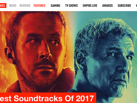 EMPIRE MAGAZINE // THE BEST SOUNDTRACKS 0F 2017