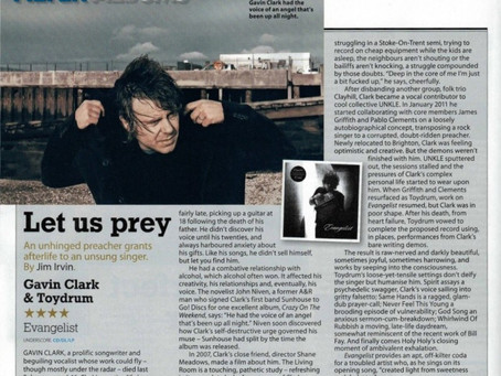 EVANGELIST // REVIEW IN MOJO