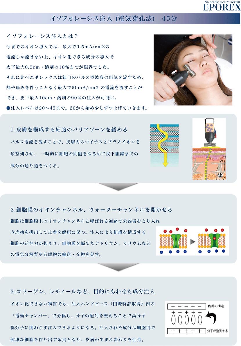 藤沢エステティックサロン クリスティ エポレックスのイソフォレース