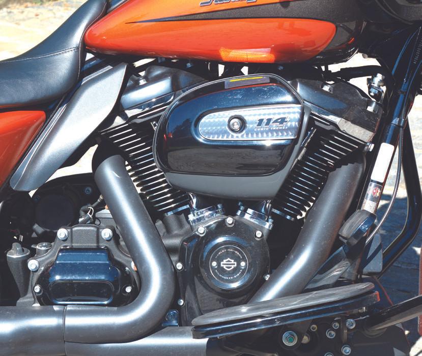 Motor Harley Davidson Road Glide Special