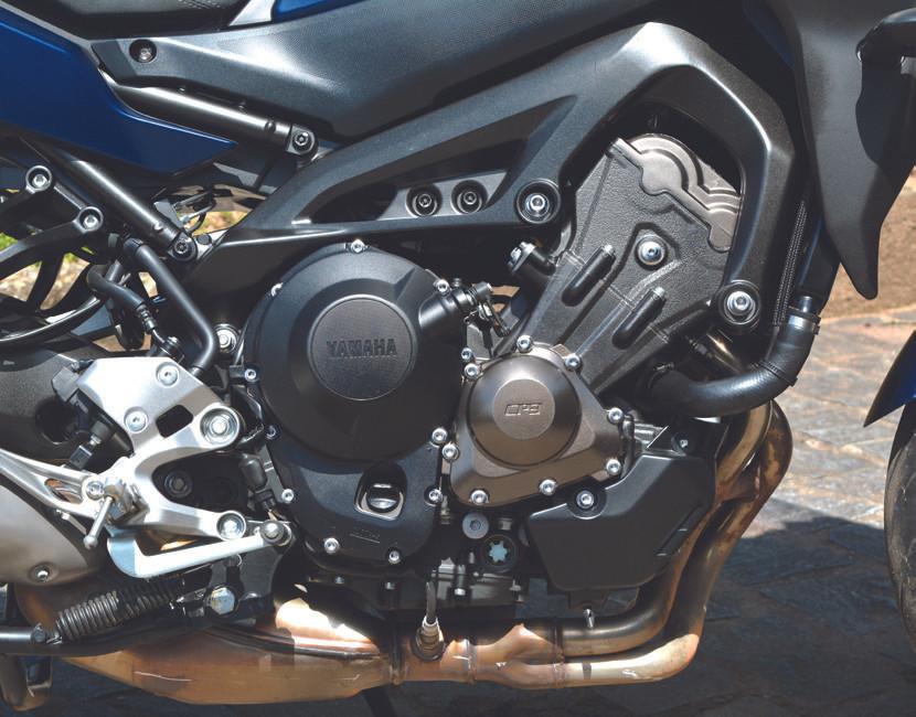 Motor da GT 900 Tracer Yamaha