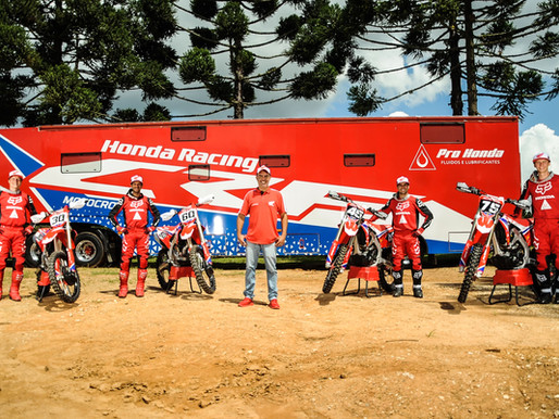 A Honda Racing Brasil anunciou os pilotos, patrocínios e estratégias de competições para 2021