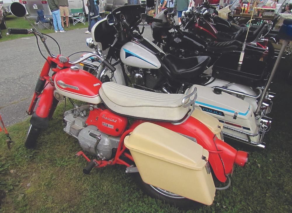Harley-Davidson 250H Sprint de 1963