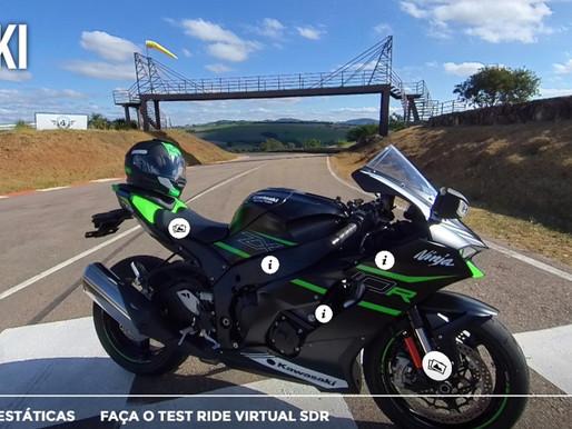 Salão Duas Rodas estreia 'Test Ride Virtual'