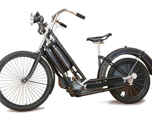 Horse Power - A 1ª moto de série trazia inovações mecânicase muita engenharia supercriativa