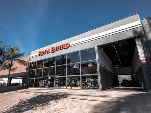 Royal Enfield inaugura concessionária Studio em Londrina