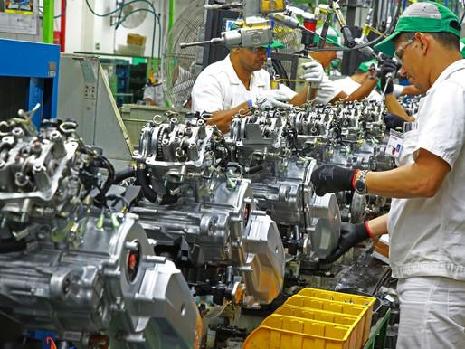 Produção de motocicletas ultrapassa 123 mil unidades em agosto