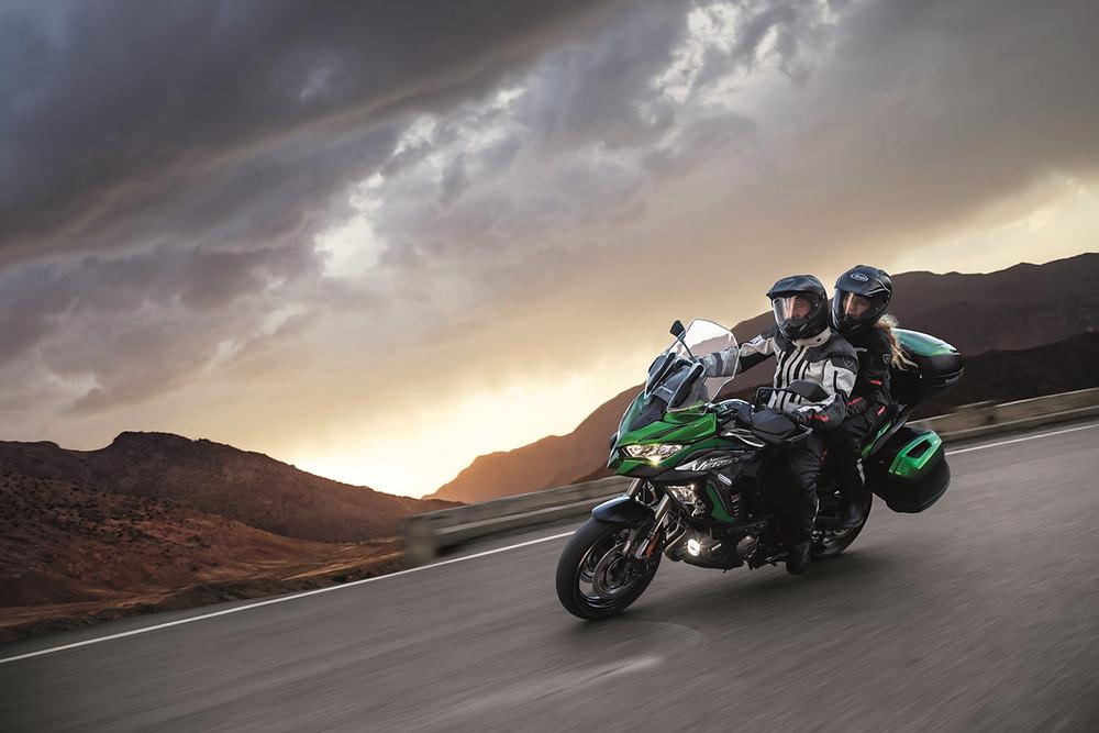 Kawasaki Versys 1000 Grand Tourer no Brasil