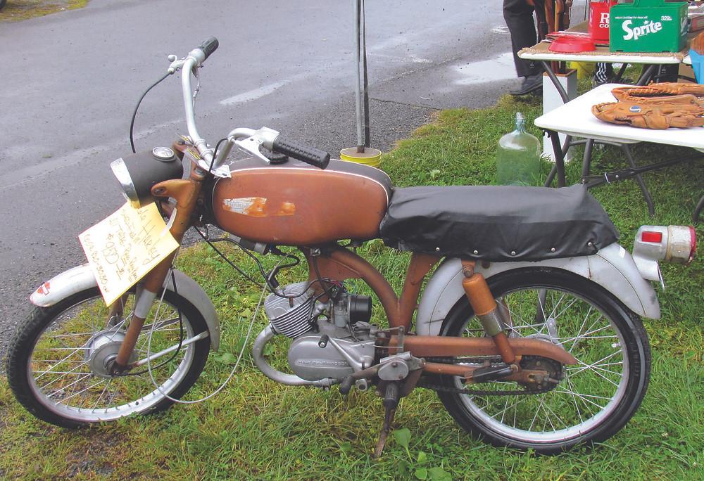 Harley-Davidson M50 Sport Leggera de 1966