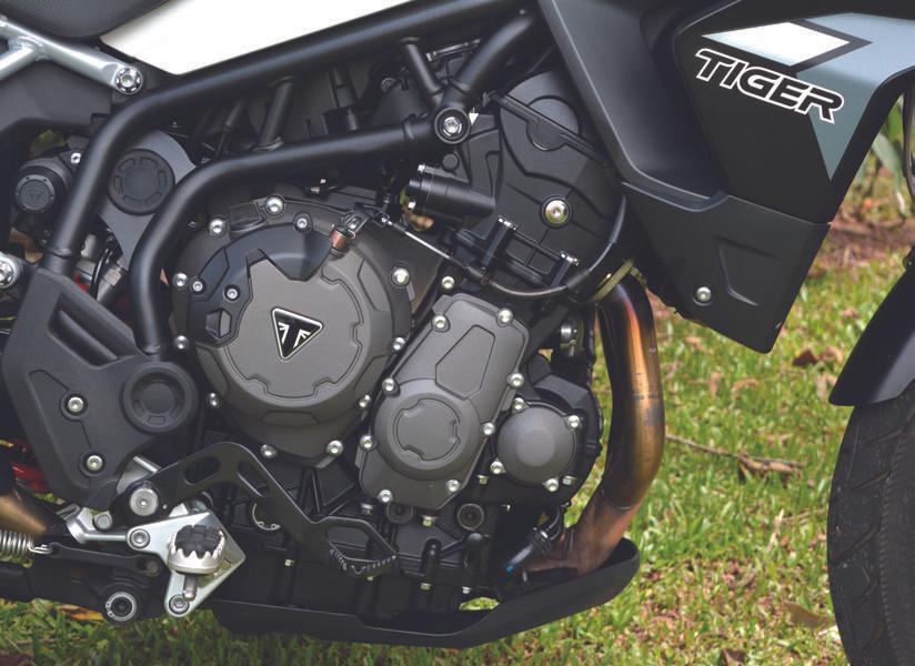 Motor da Triumph Tiger 900 GT Pro