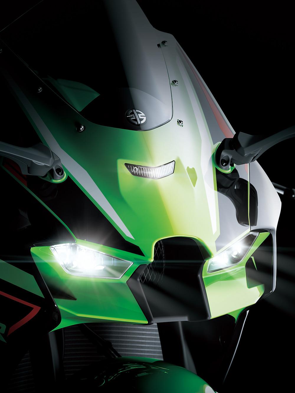 Faróis da Kawasaki Ninja ZX-10R 2022