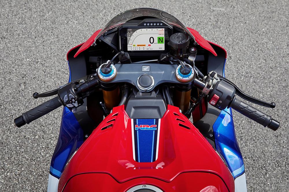 Modos de pilotagem da Honda CBR 1000RR-R 2022