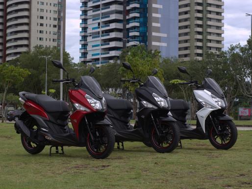 Mais um scooter SYM chega para ampliar o line up Dafra