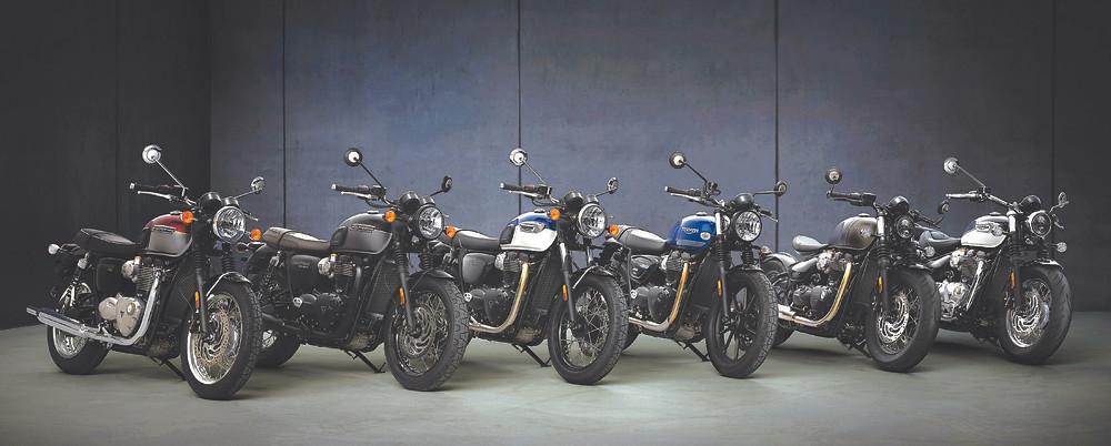 Novas Motos Clássicas Triumph 2021 no Brasil