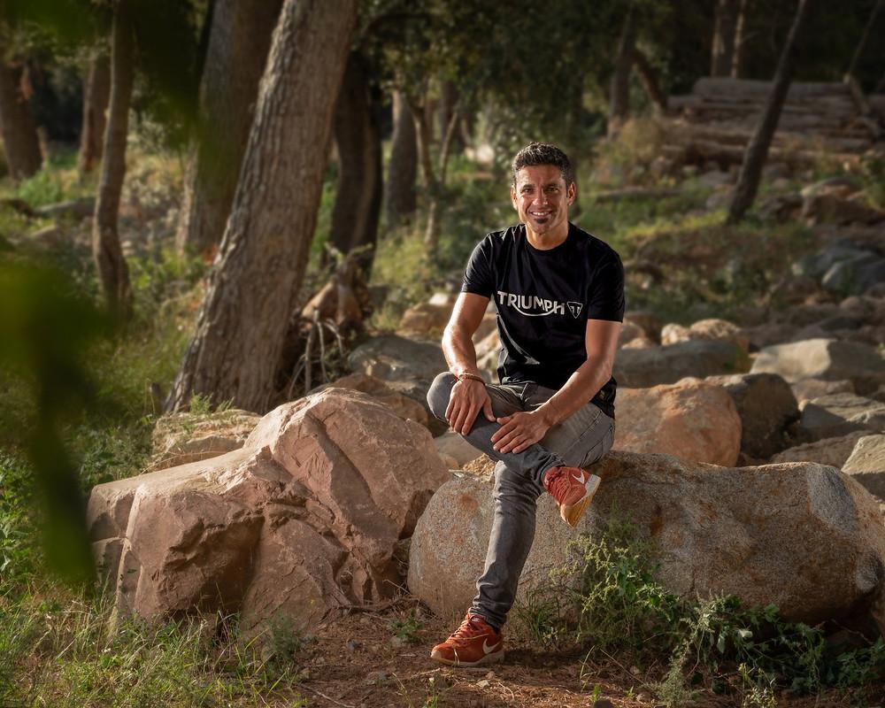 O espanhol Iván Cervantes, pentacampeão mundial de Enduro participará no desenvolvimento do projeto