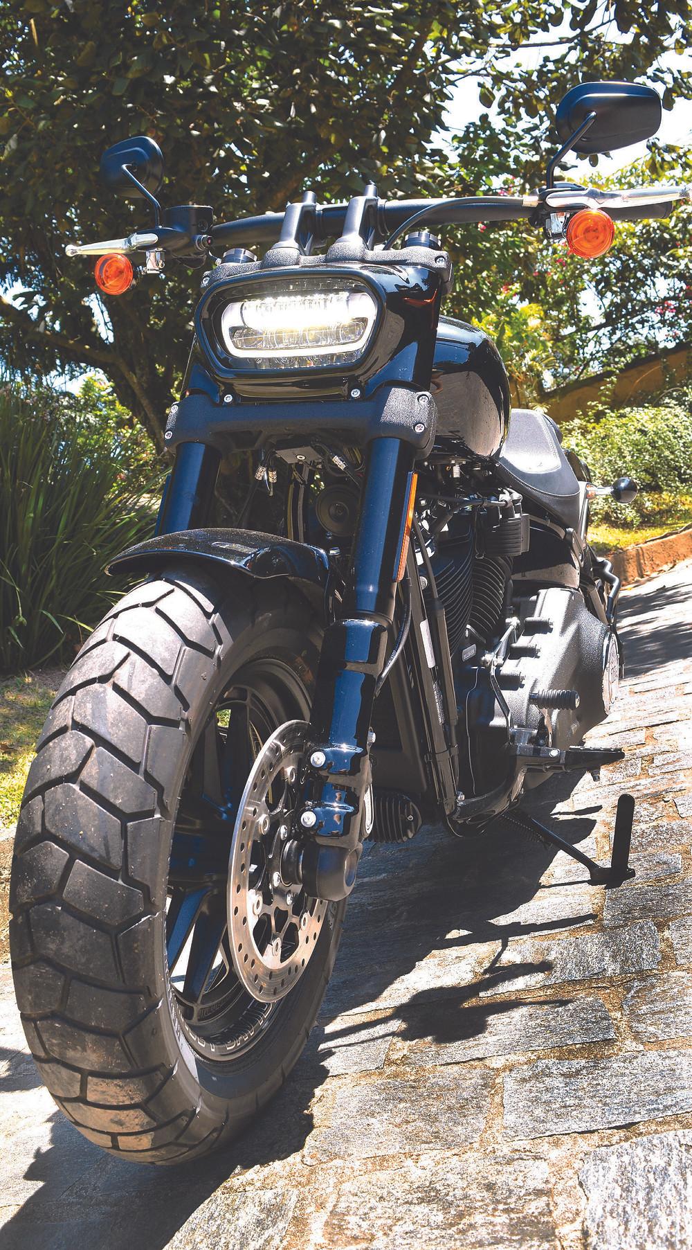 Frente da Harley-Davidson Fat Bob