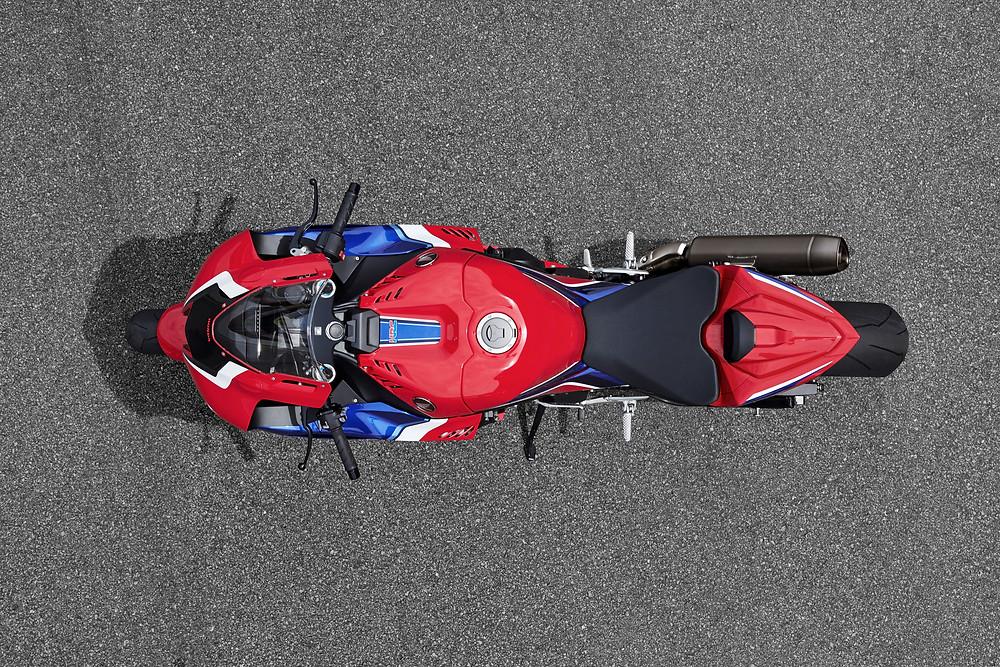 Entre-eixos da Honda CBR 1000 RR-R 2022