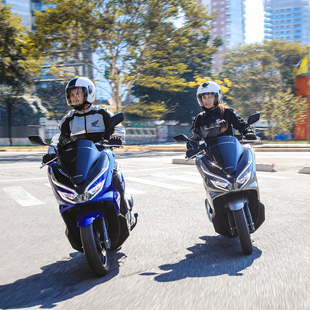 Honda PCX 150 2022 no Brasil