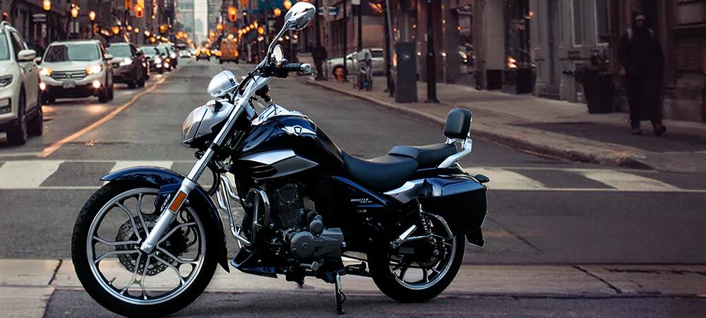 Motor 150 cc da Haojue Master Ride 2022 Brasil