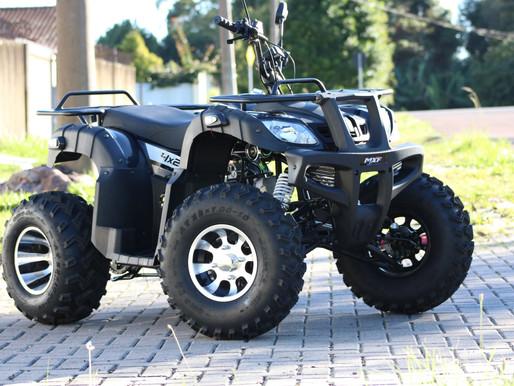 Quadriciclo MXF Force 200cc é opção para locomoção em áreas rurais