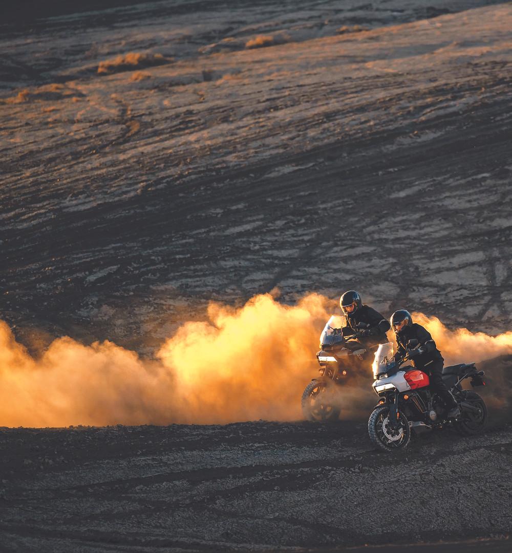 Motor V2 da Harley-Davidson Pan America no Brasil