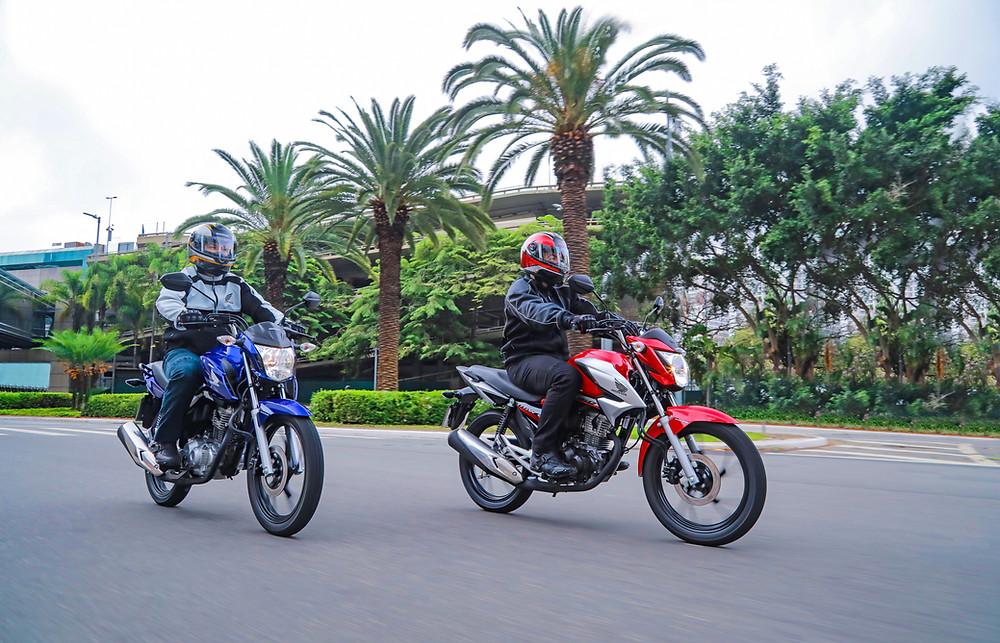 A versão 2022 da CG 160 também está disponível para aquisição através do Consórcio Honda