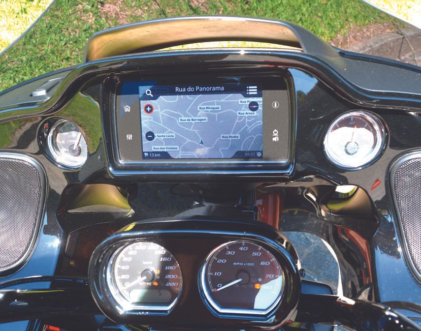 Painel Harley Davidson Road Glide Special