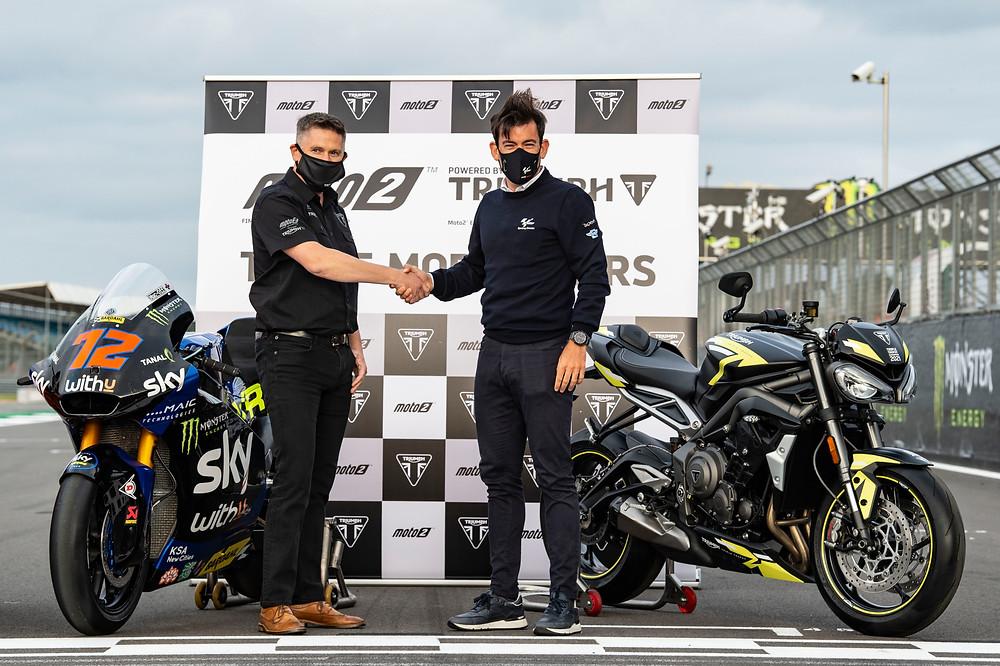 Triumph Motorcycle motores para o Campeonato Mundial FIM de Moto2 2021, 2022, 2023, 2024