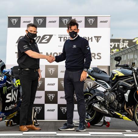 Triumph fornecerá os motores da Moto2 por mais três anos