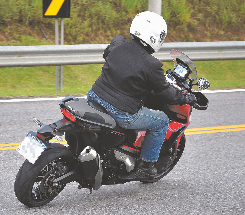 Scooter Honda X-ADV 750 Traseira